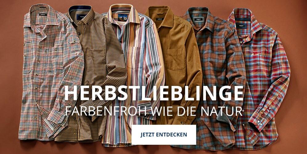 Hemden in Herbstfarben | Walbusch