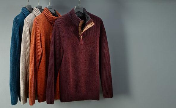 Troyer: der Seemannspullover für Herren in modernen Designs | Walbusch
