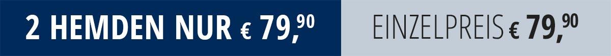 2 Hemden nur € 79,90 | Walbusch