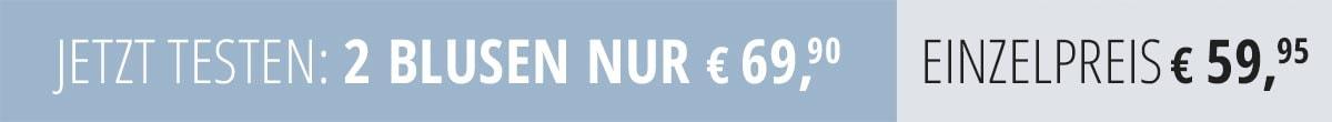 Jetzt testen: 2 Blusen nur €69,90 | Walbusch