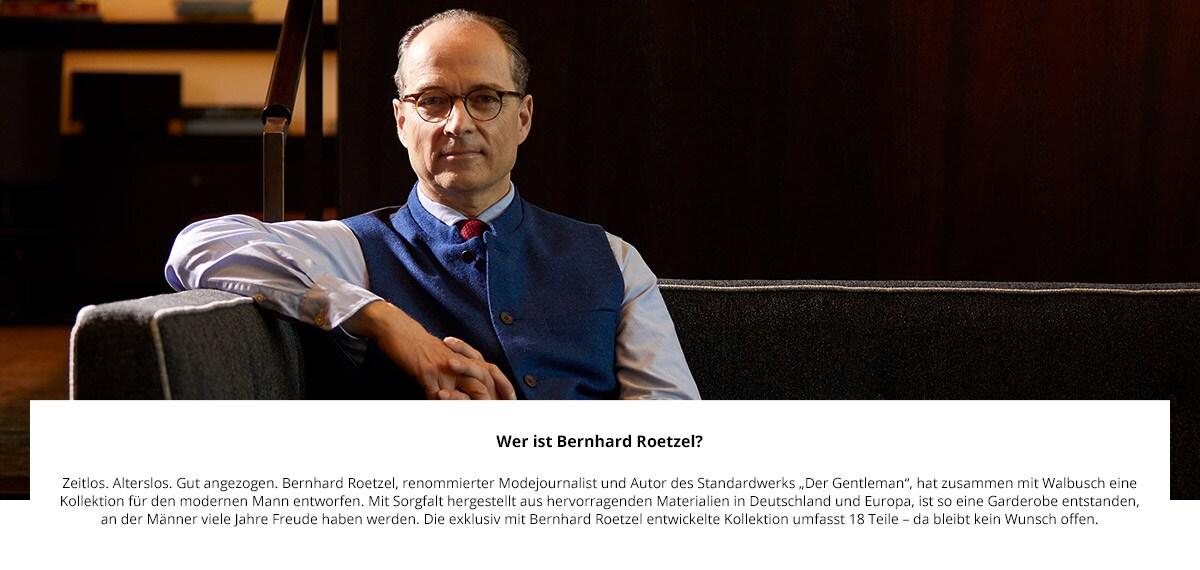 Künstler Bernhard Roetzel | Walbusch