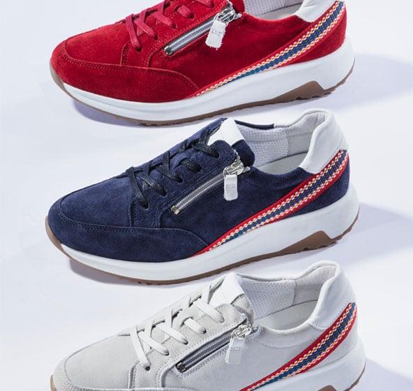 Damen-Sneaker aus hochwertigen Materialien   Walbusch