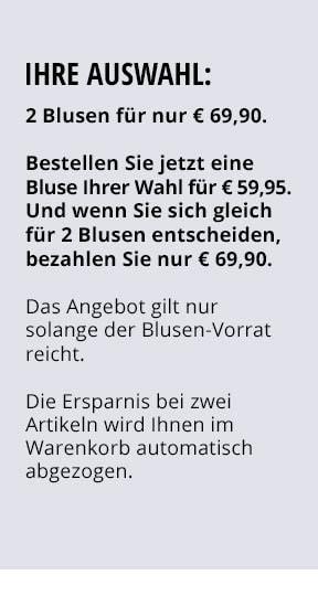 Ihre Auswahl: 2 Blusen für nur €69,90 | Walbusch