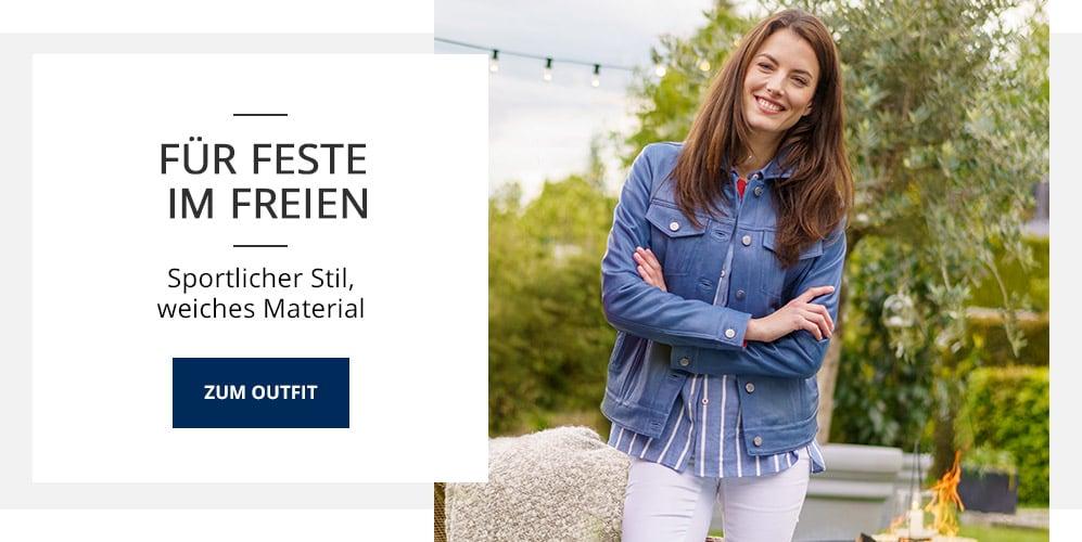 Outfit TV Lammnappa-Jeansjacke | Walbusch