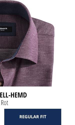 2 Softflanell-Hemden für nur € 69,90: Uni Rot | Walbusch