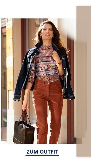 Outfit Trendfarben Powerstretch Jeansjacke | Walbusch
