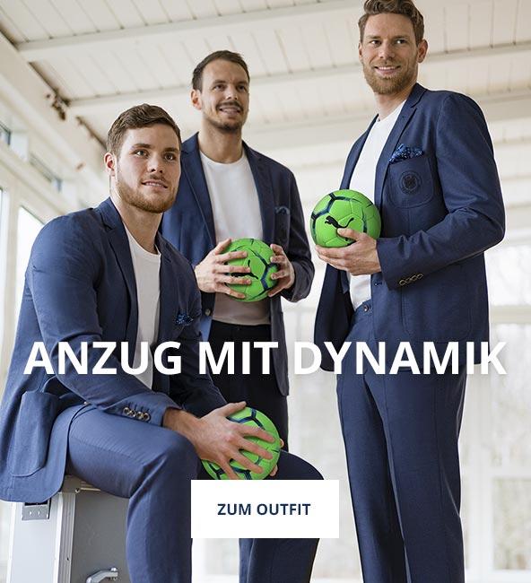 Outfit Anzug mit Dynamik | Walbusch