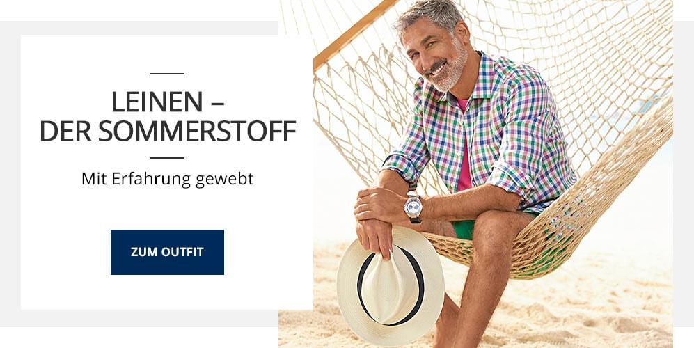 Outfit Leinen - der Sommerstoff | Walbusch