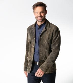 Das Lederjackett und die Leder-Hemdjacke   Walbusch