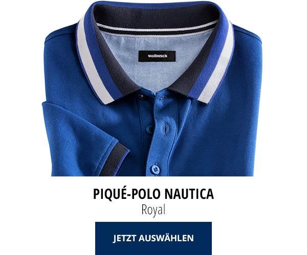 Piqué-Polo Nautica Royal | Walbusch