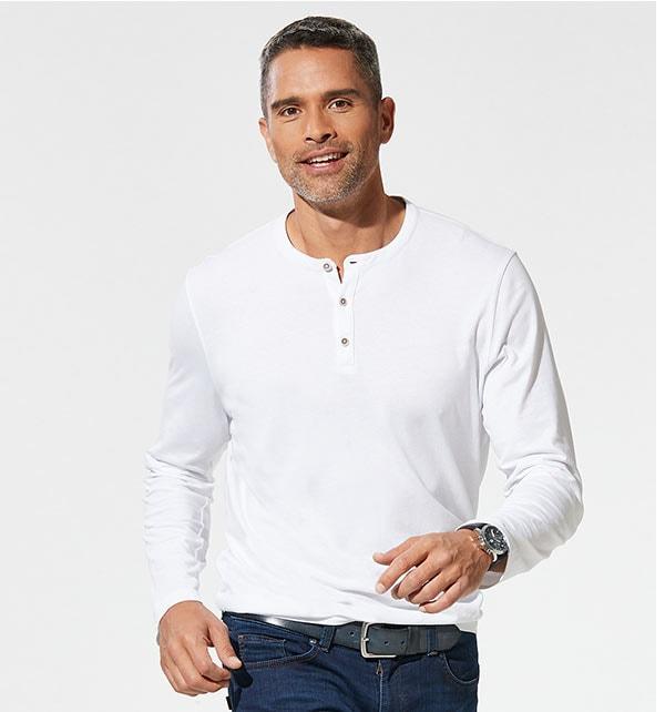 Herren Henley Shirts | Walbusch