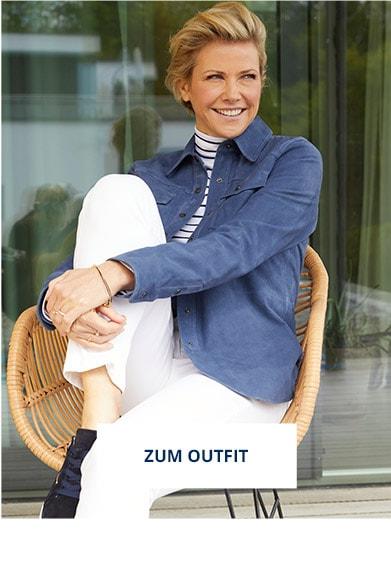 Outfit Ziegenvelours-Hemdjacke   Walbusch