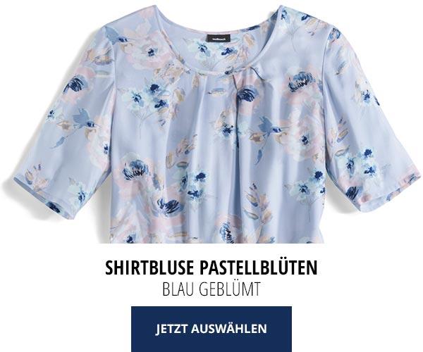 Sommerblusen nur 29,95€: Shirtbluse Pastellblüten   Walbusch