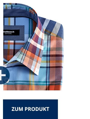 Easycare Freizeit-Hemd, Madraskaro