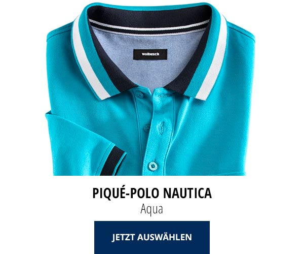 Piqué-Polo Nautica Aqua | Walbusch