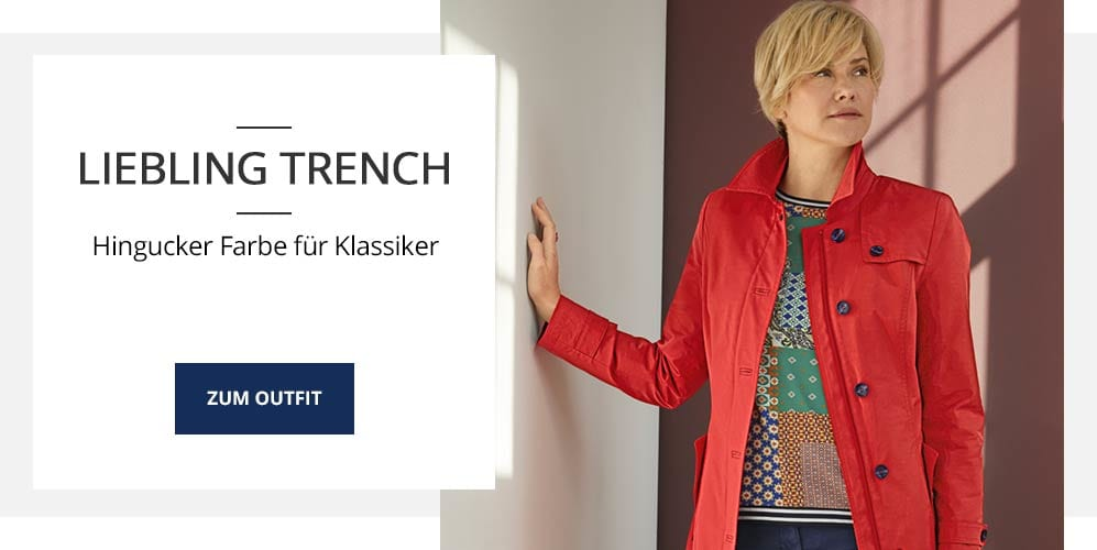 Outfit Liebling Trench | Walbusch