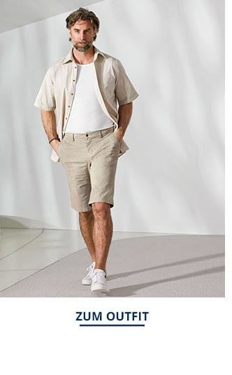 Outfit Freizeit-Hemd-Reiseleinen   Walbusch