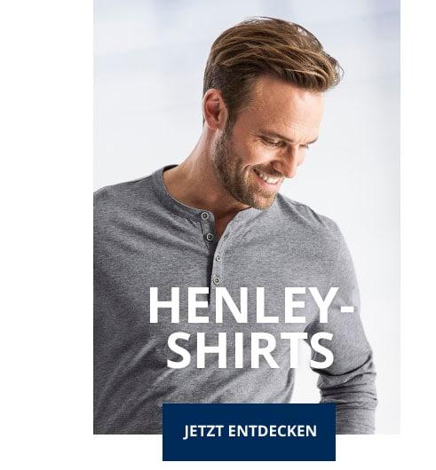 Herren Henley Shirts   Walbusch