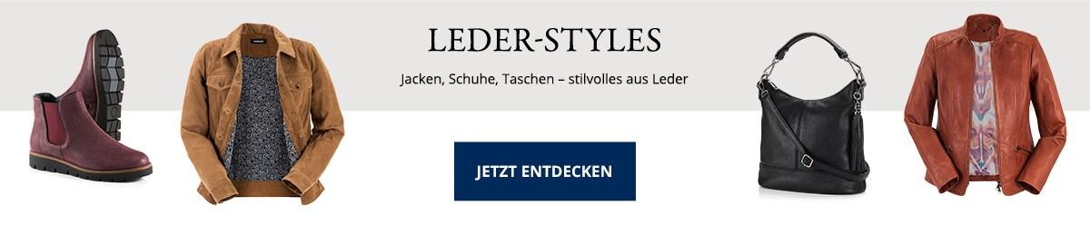 Leder-Kollektion für Damen   Walbusch