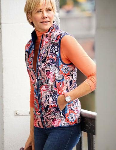 Kreieren sie Ihren eigenen Look mit einer Steppweste für Damen | Walbusch