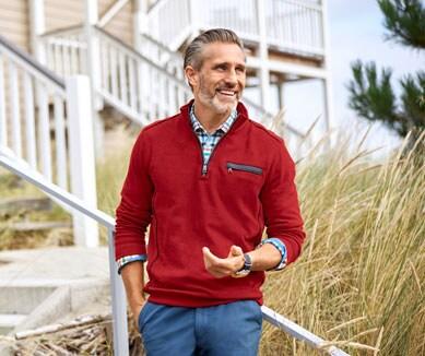 Unifarbene Troyer für Herren in vielen Designs | Walbusch