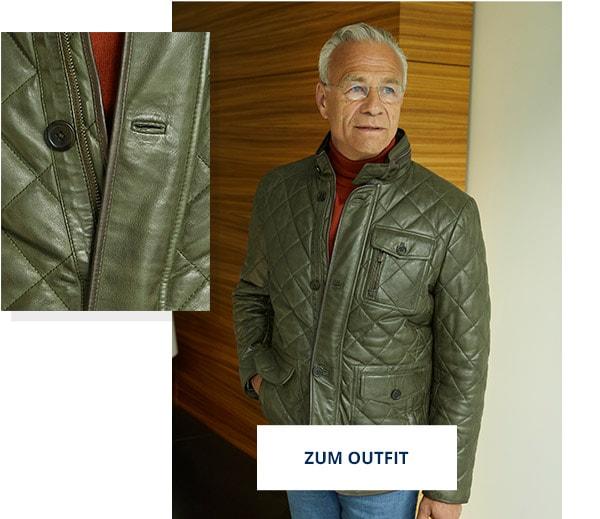 Outfit Steppleder Jacke | Walbusch