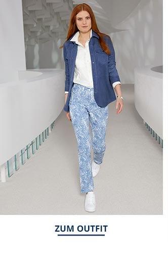 Outfit Velours Lederjacke | Walbusch
