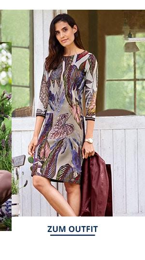 Outfit Trendfarben Lammnappa Kurzjacke | Walbusch