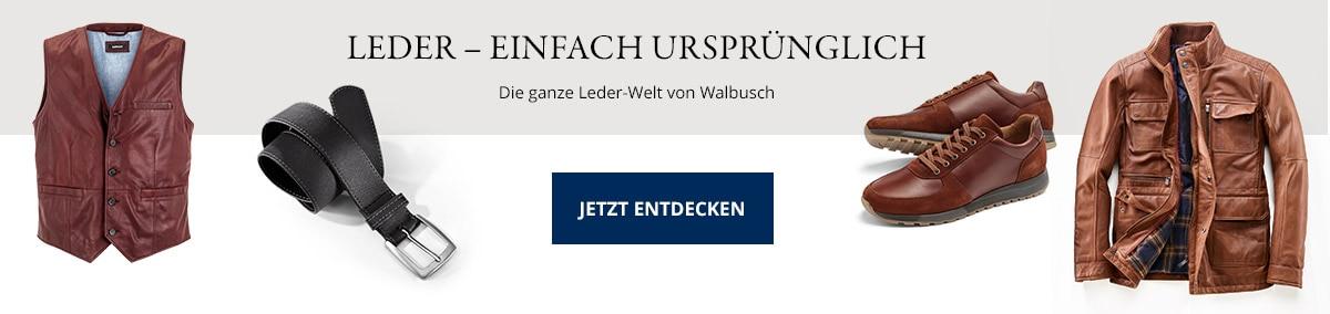 Lederkollektion entdecken | Walbusch