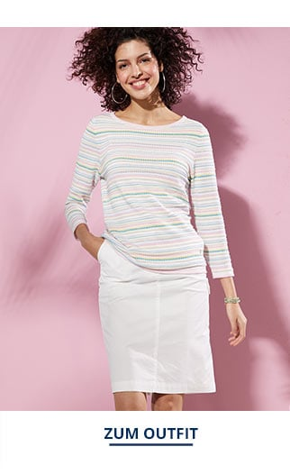 Outfit Sommer-Cotton-Pullover Miami   Walbusch