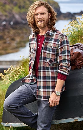 Holzfällerhemd mit Karomuster: der Klassiker unter den Falnellhemden | Walbusch