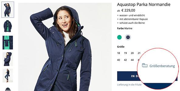So finden Sie die optimale Größe für ihre Damen-Funktionsjacke   Walbusch