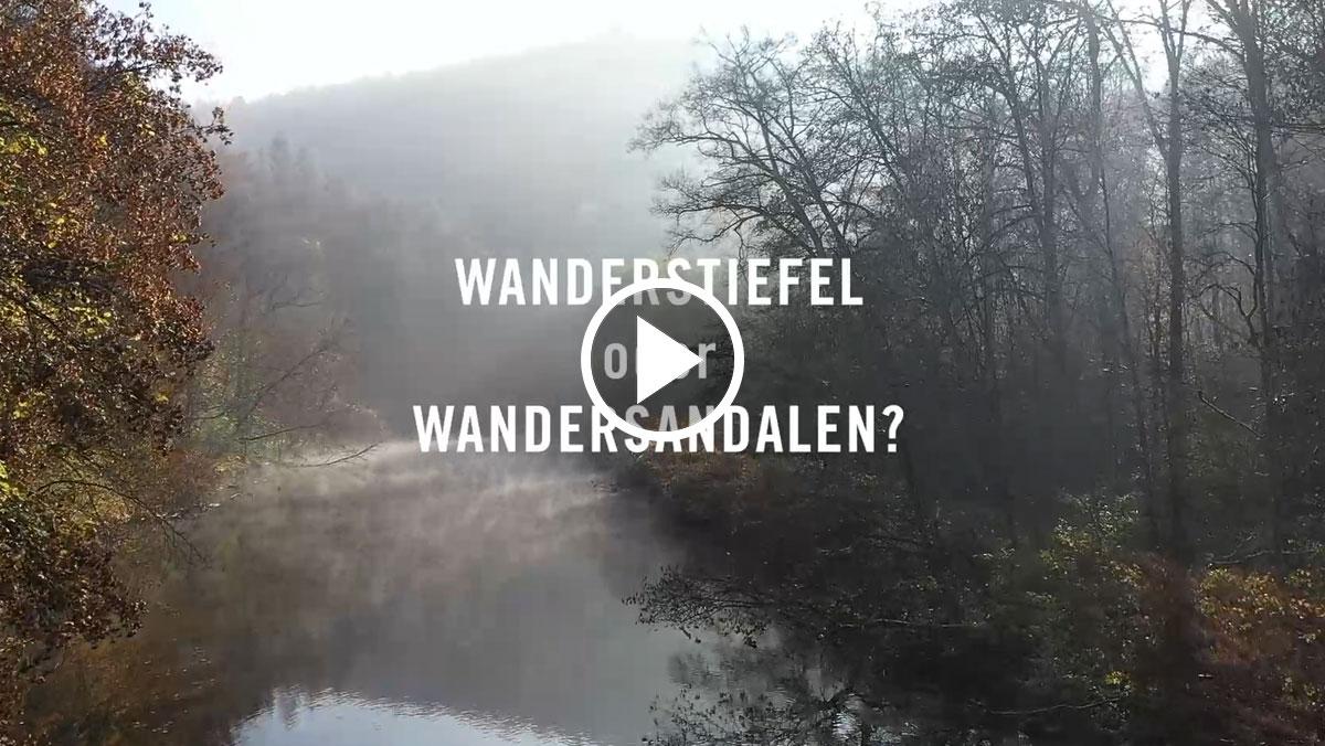 Wanderstiefel oder Wandersandalen?