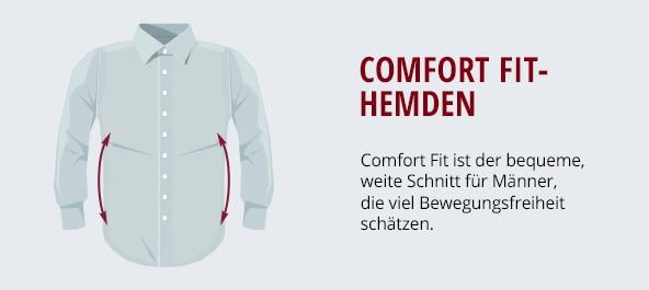 Comfort Fit-Hemden