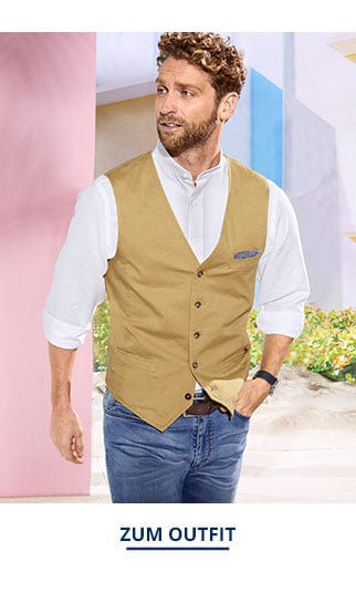 Outfit-Baumwoll-Weste   Walbusch