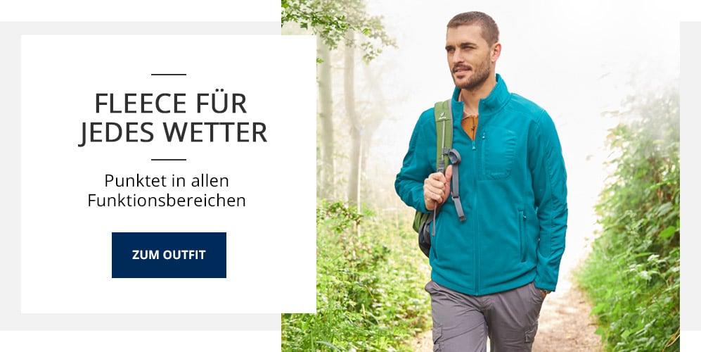 Outfit Fleece für jedes Wetter | Walbusch