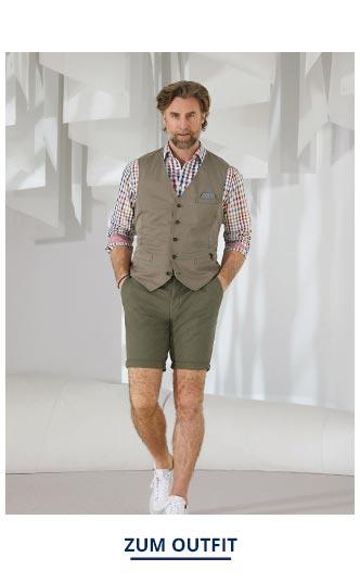 Outfit Atelier-Hemd-Vichykaro   Walbusch