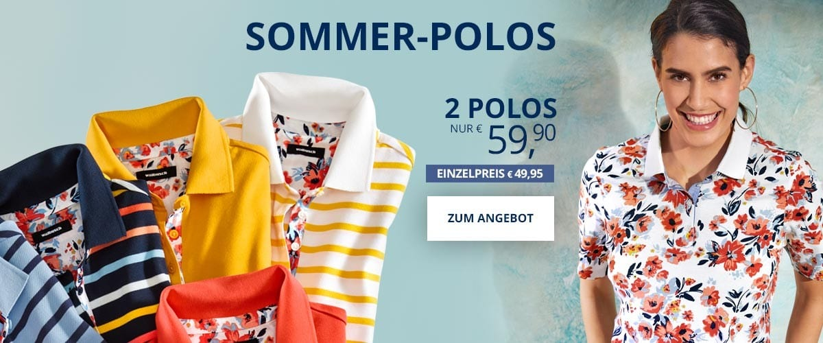 Sommer-Polos | Walbusch
