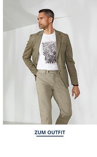 Outfit Highstretch-Sakko-Pima-Cotton   Walbusch