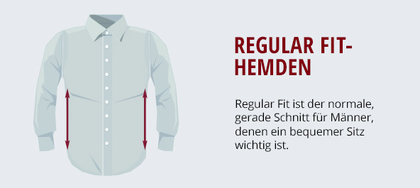 Regular Fit-Hemden