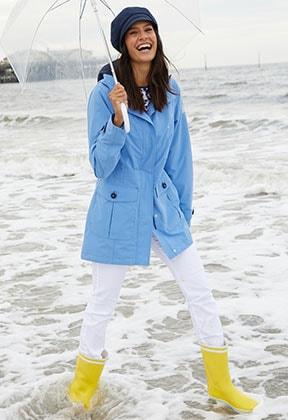 Damen-Funktionsjacken mit einem wetterfesten Outdoor-Look   Walbusch