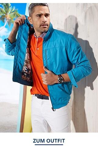 Outfit 7-Taschen-Reiseblouson   Walbusch
