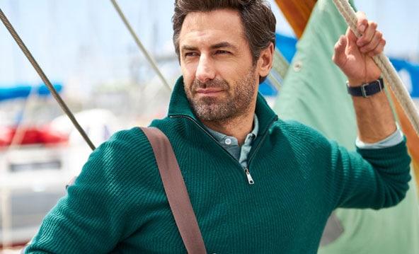 Pullover mit Charakter: Troyer für Herren | Walbusch