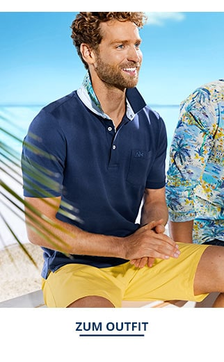 Outfit Strand-Polo-Tropical   Walbusch