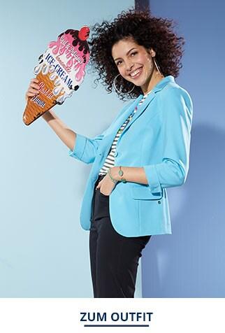 Outfit Sommerblazer Wash & Wear   Walbusch