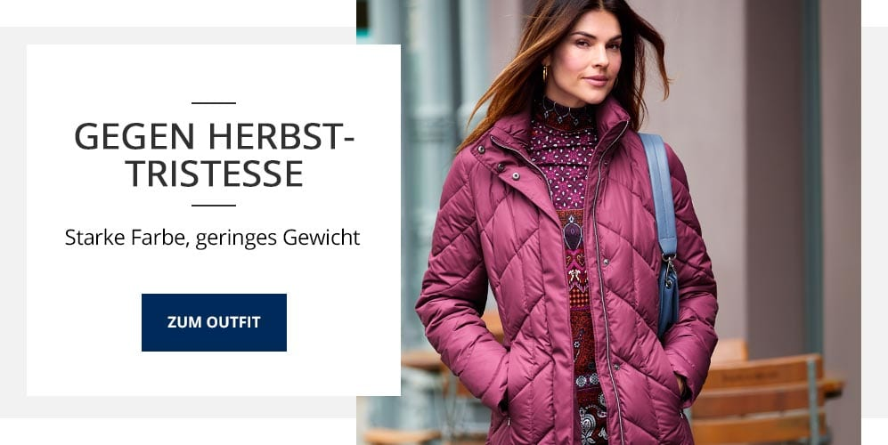 Outfit gegen Herbst-Tristesse | Walbusch
