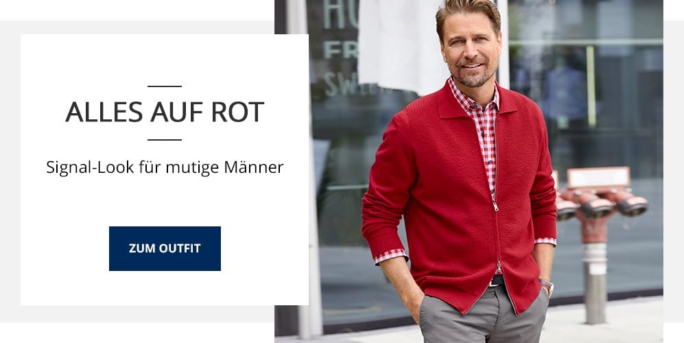 Outfit Alles auf Rot | Walbusch