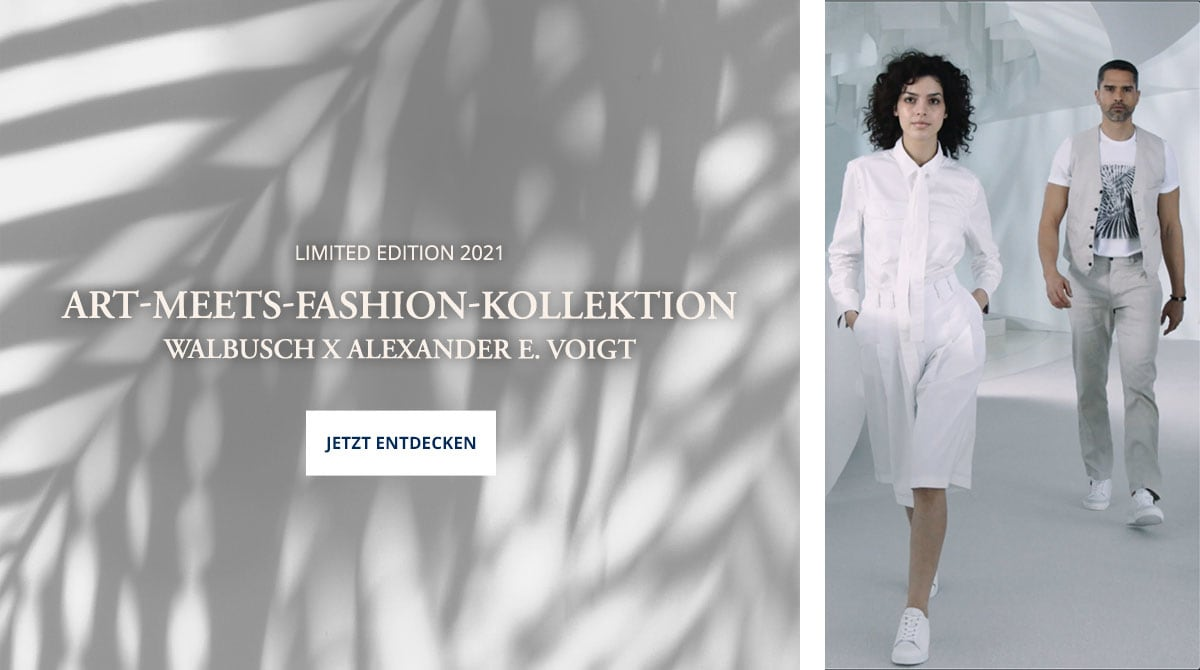 Art meets Fashion Kollektion | Walbusch