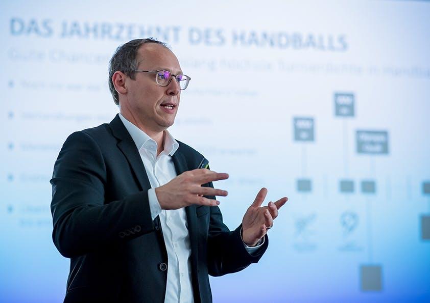 Mark Schober, Vorstand des Deutschen Handballbundes