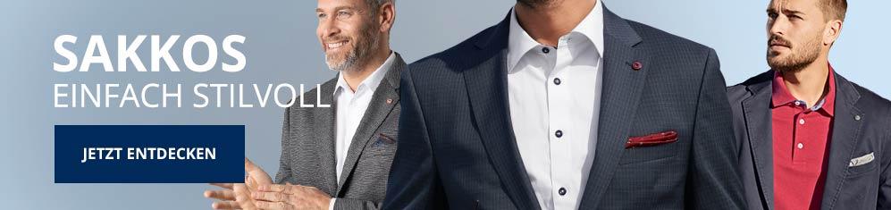 Comfort-Fit Hemden Sakkos   Walbusch